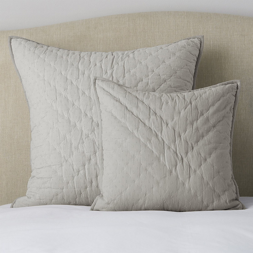 The White Company Annecy Cushion Covers Large 65 x 65 cm