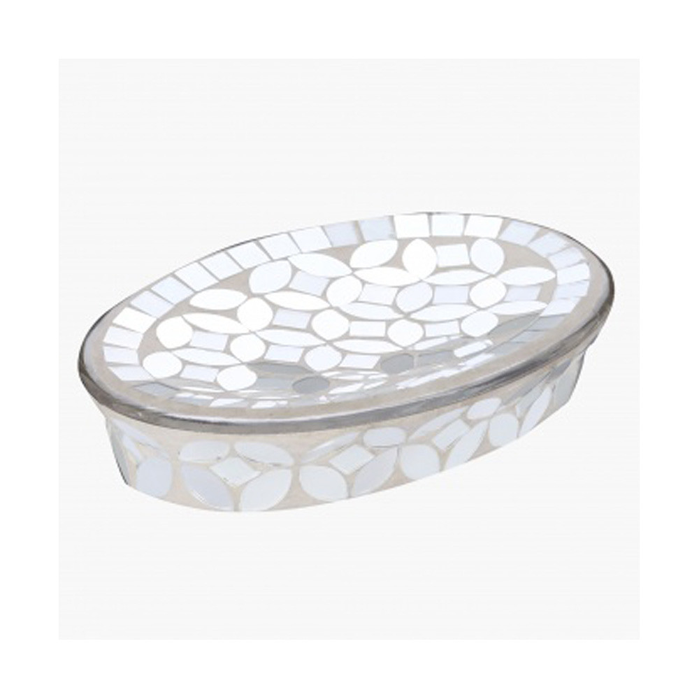 Home Centre Silverside Soap Dish