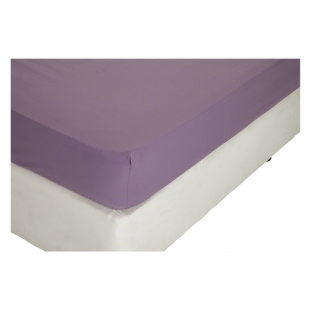 Home Centre Eternity King Fitted Sheet 180x210 cms Lavender