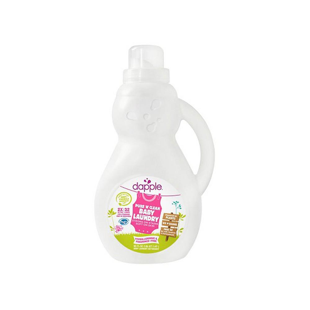 Dapple Baby 2X Laundry Detergent Fragrance Free 50oz