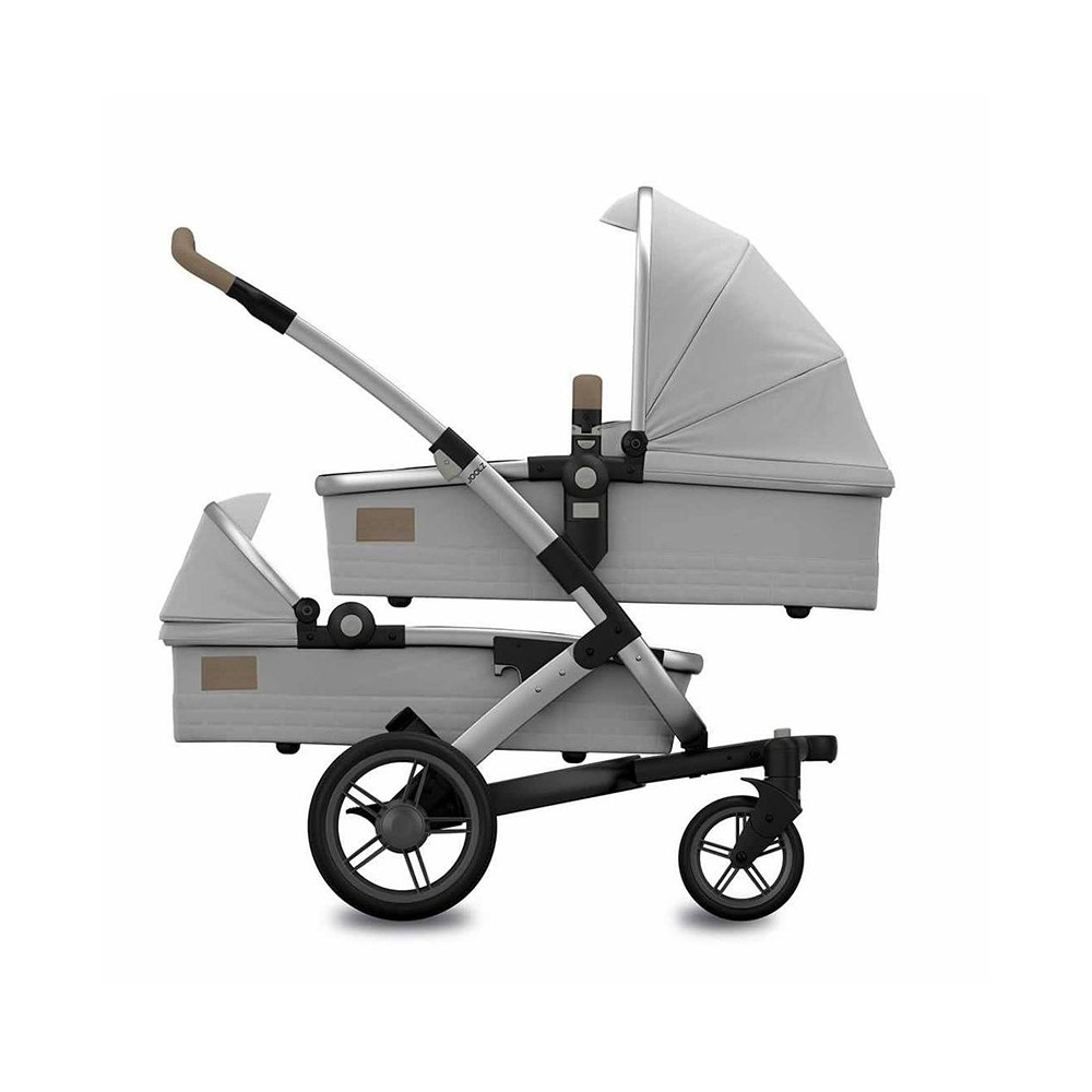 Joolz Geo Quadro Grigio Stroller - Twin