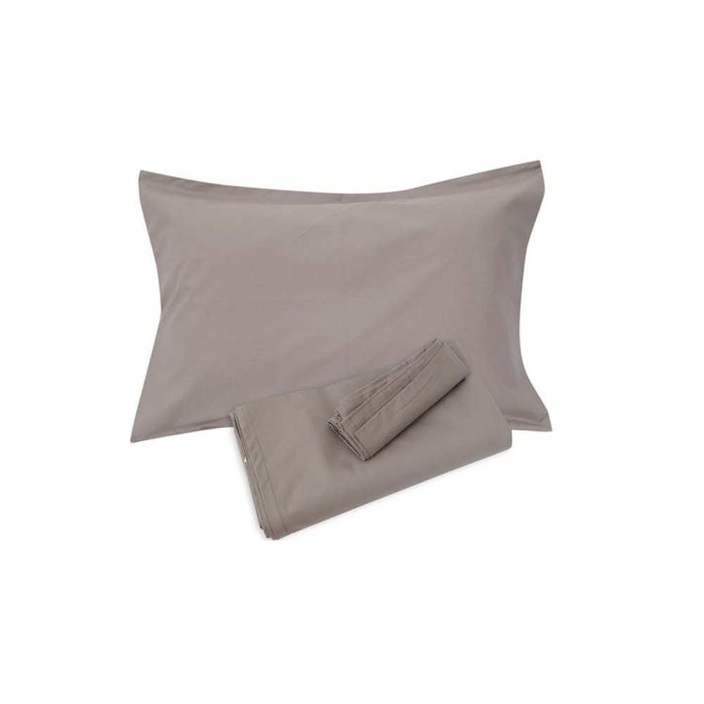 Home Centre Infinity Fitted Sheet 155x205 cm Grey