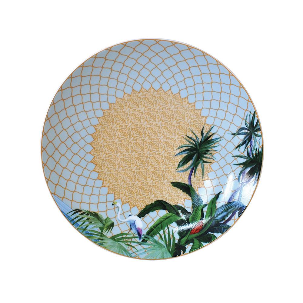 Bernardaud Tropiques Salad Plate