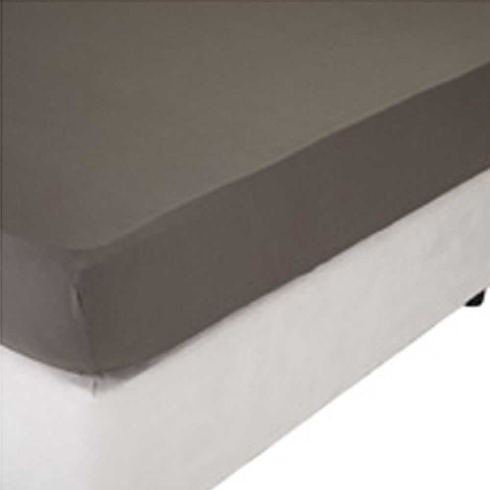 Home Centre Infinity Fitted Sheet 200x210 cm Grey