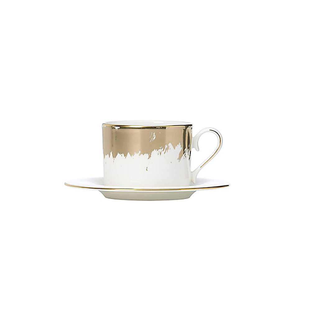 Lenox Teacup & Saucer Casual Radiance