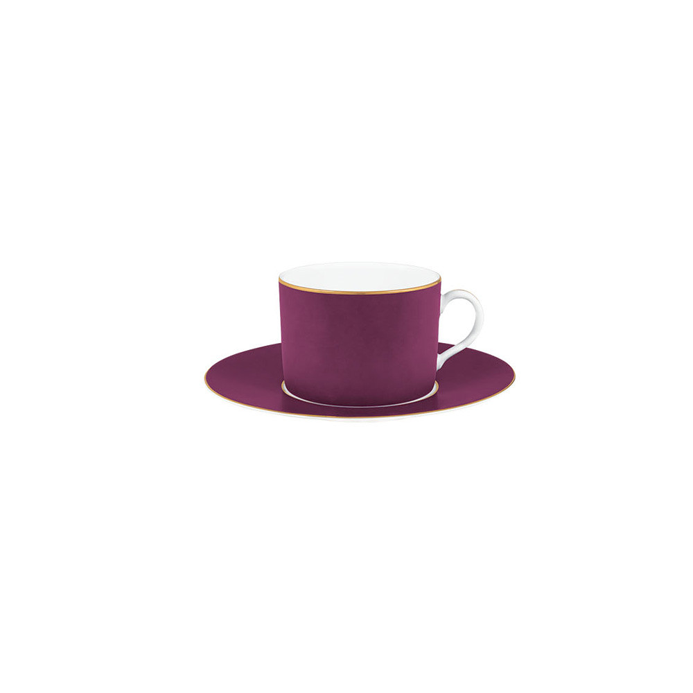 Porcel Violet Tea Saucer
