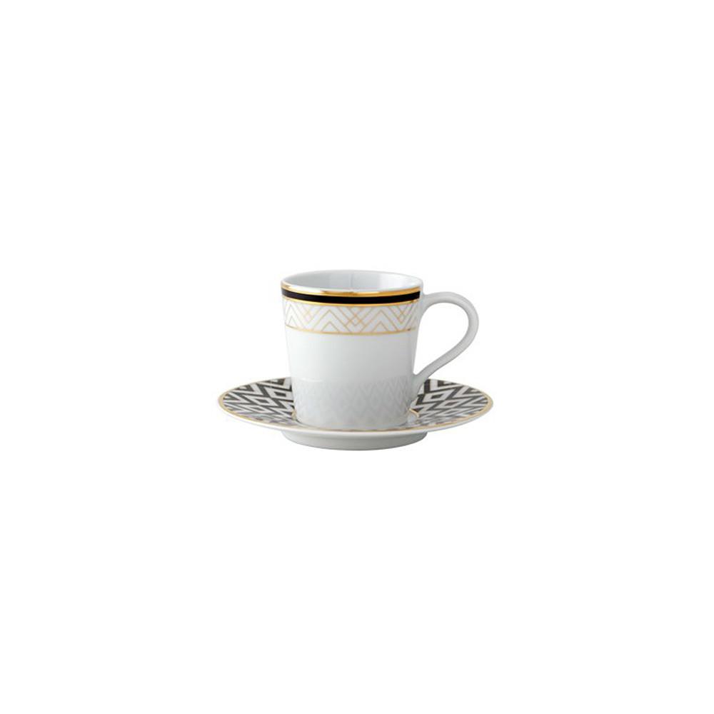 SPAL Art Deco Espresso Cup&Saucer