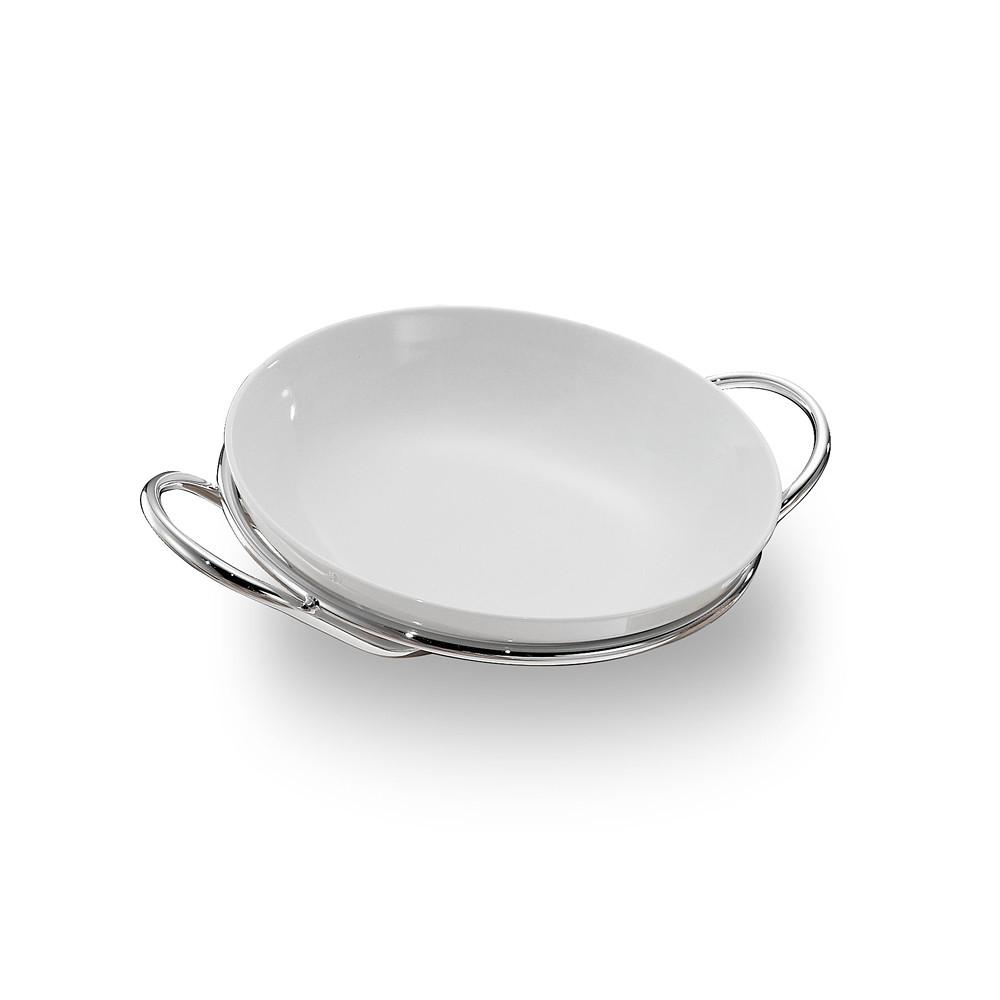 Zanetto Binario Round Spaghetti Dish 30cm
