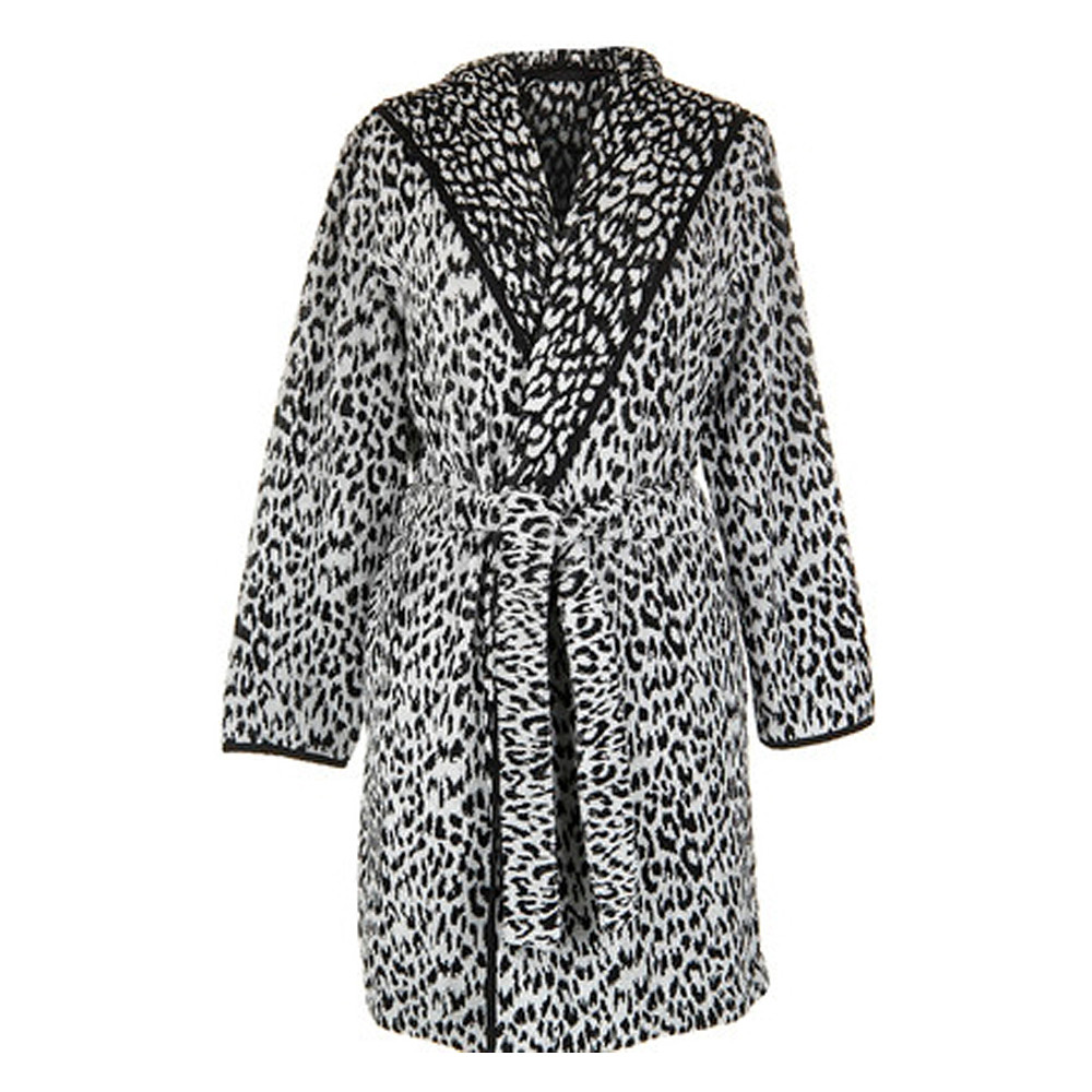 Bath Robe Zimba Black