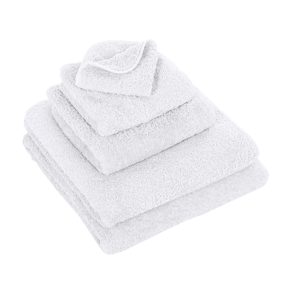 Abyss & Habidecor Wash Towel Super Pile White 30x30