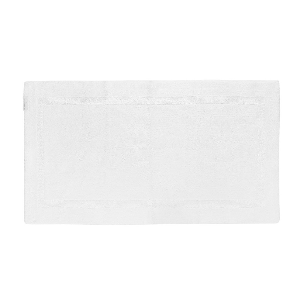 Reversible Bath Mat White