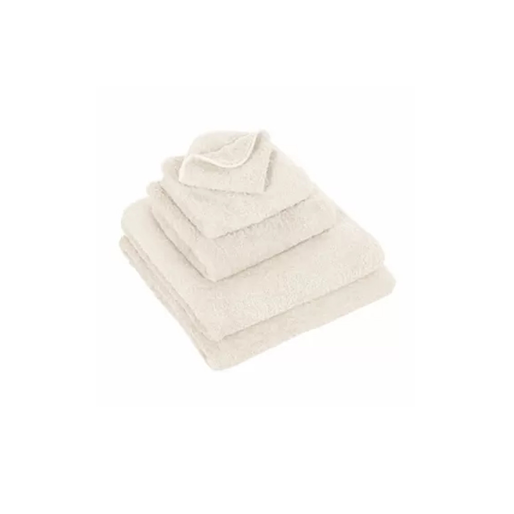 Abyss & Habidecor Wash Towel Super Pile Ivory 30x30