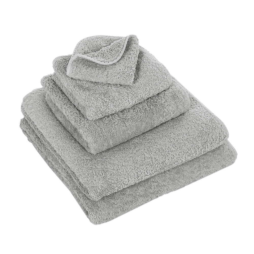 Abyss & Habidecor Wash Towel Super Pile Platinum 30x30