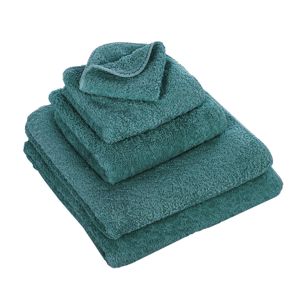 Abyss & Habidecor Wash Towel Super Pile Peacock 30x30