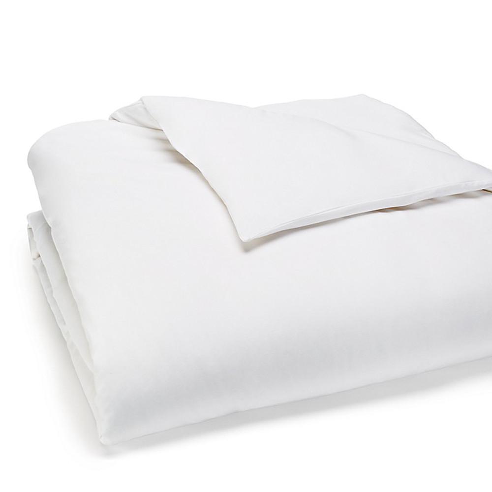 Calvin Klein Duvet Cover White 260x240 Modern Cotton Jersey Body