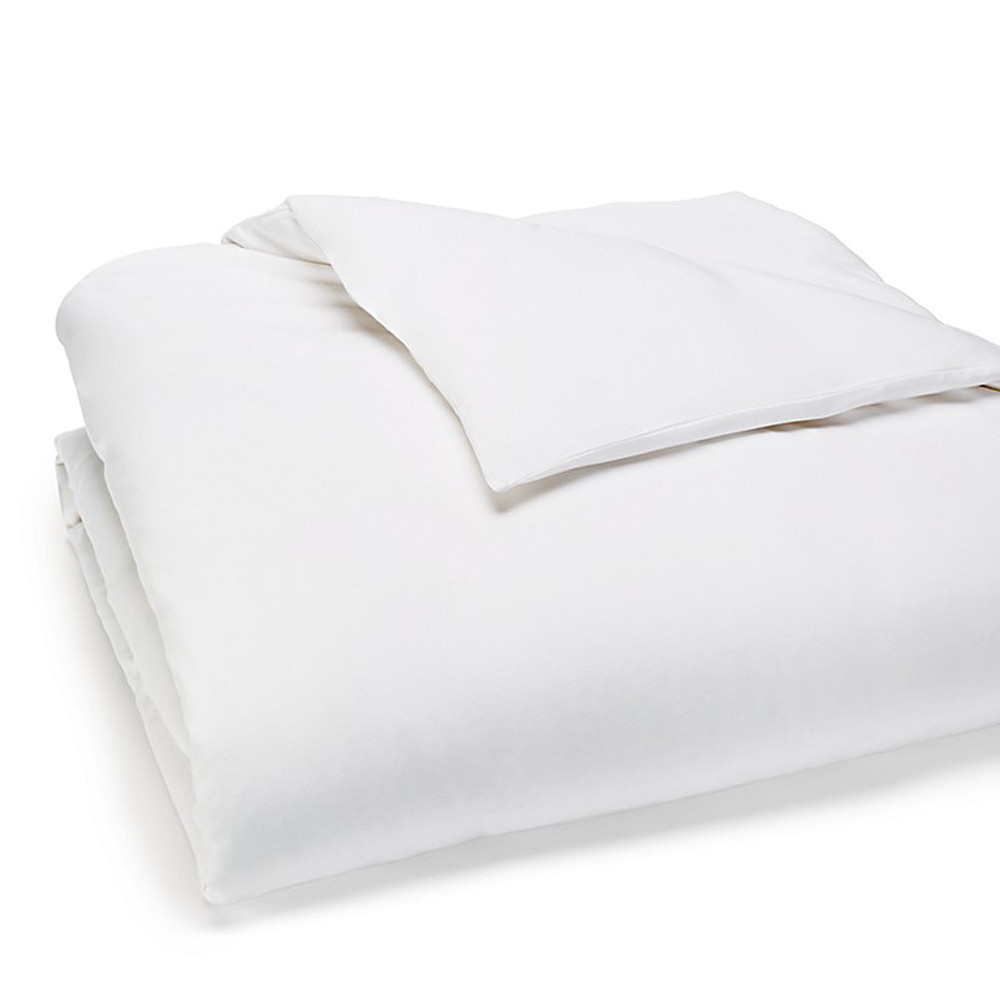 Calvin Klein Duvet Cover White 140x200 Modern Cotton Jersey Body
