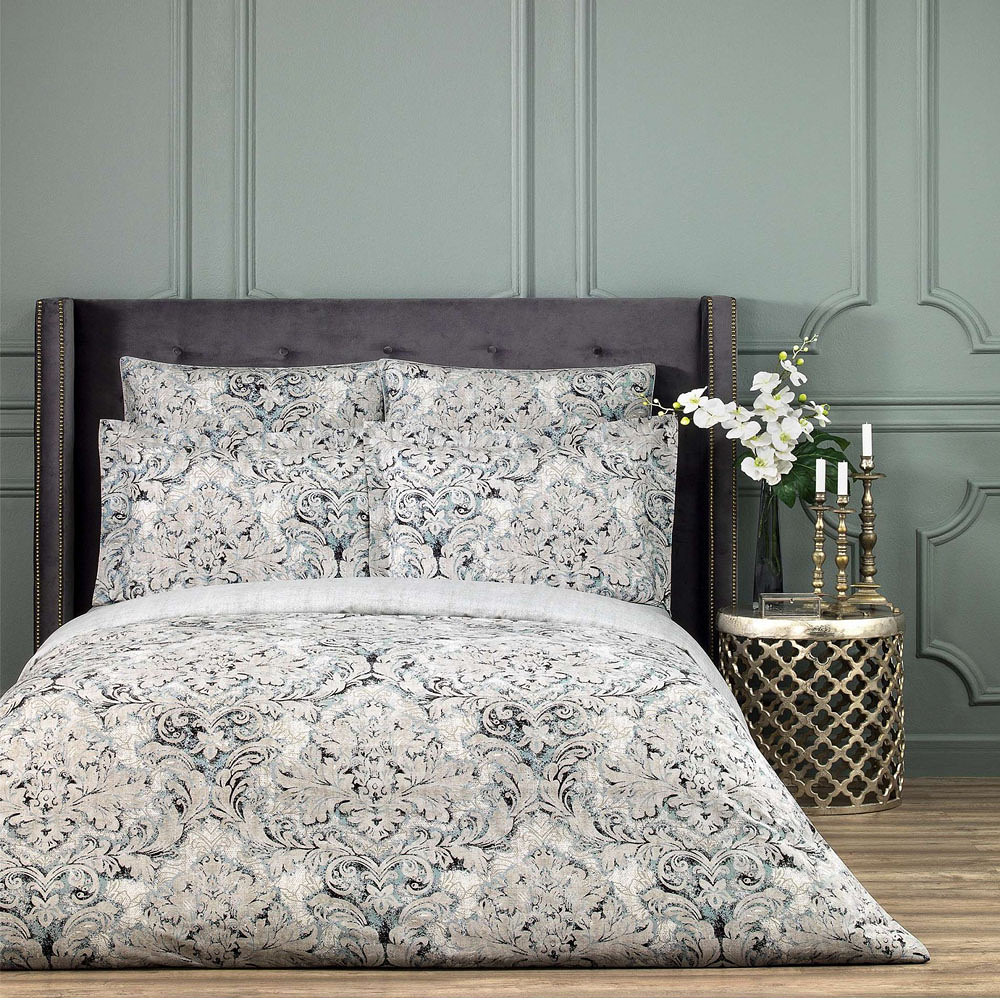 Togas Castello Bedding Set Gray