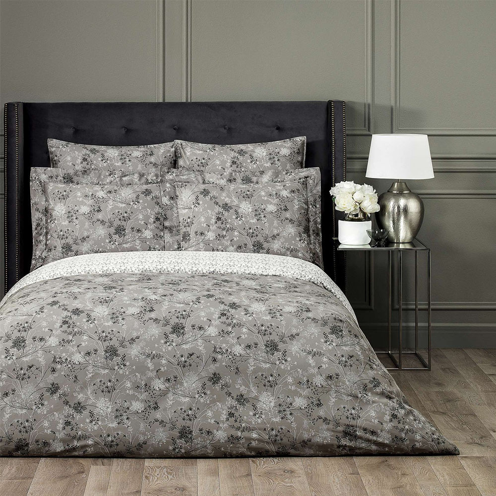 Togas Kristi Bedding Set Gray 260 x 240