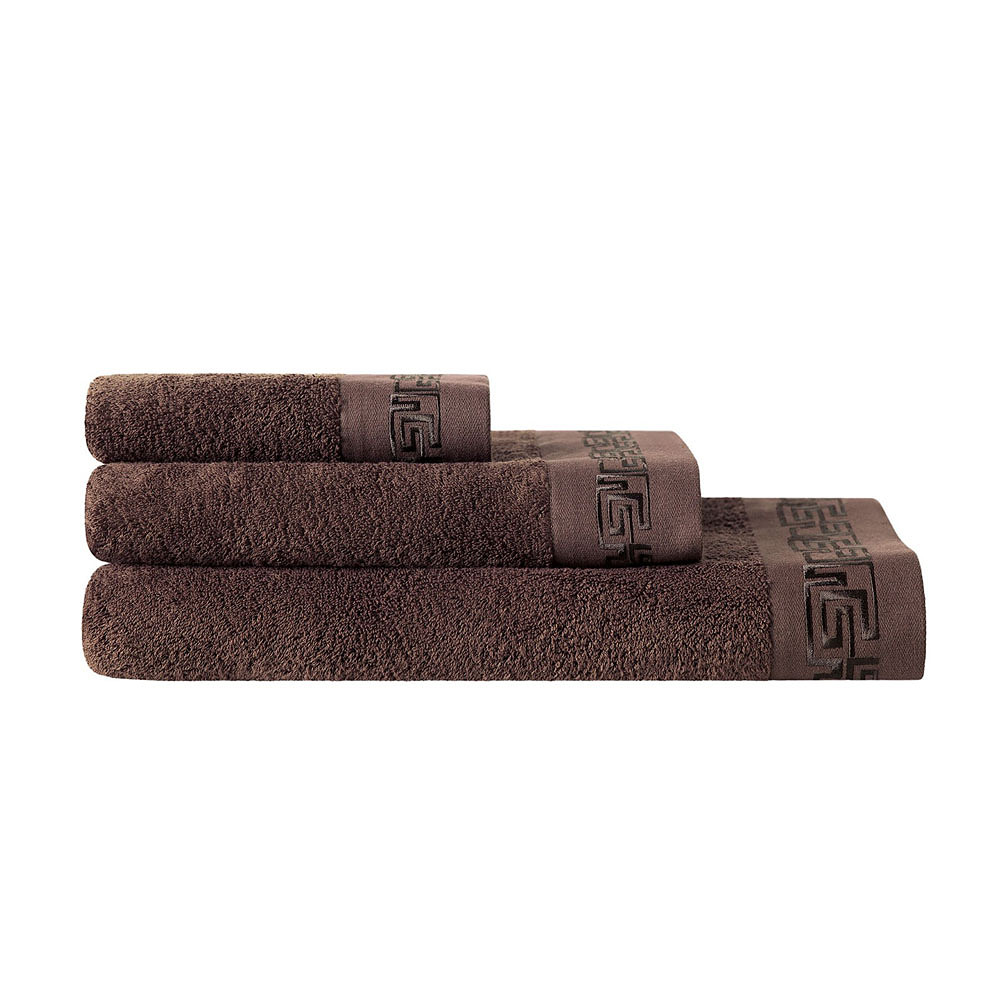 Togas Lester Towel Set Brown