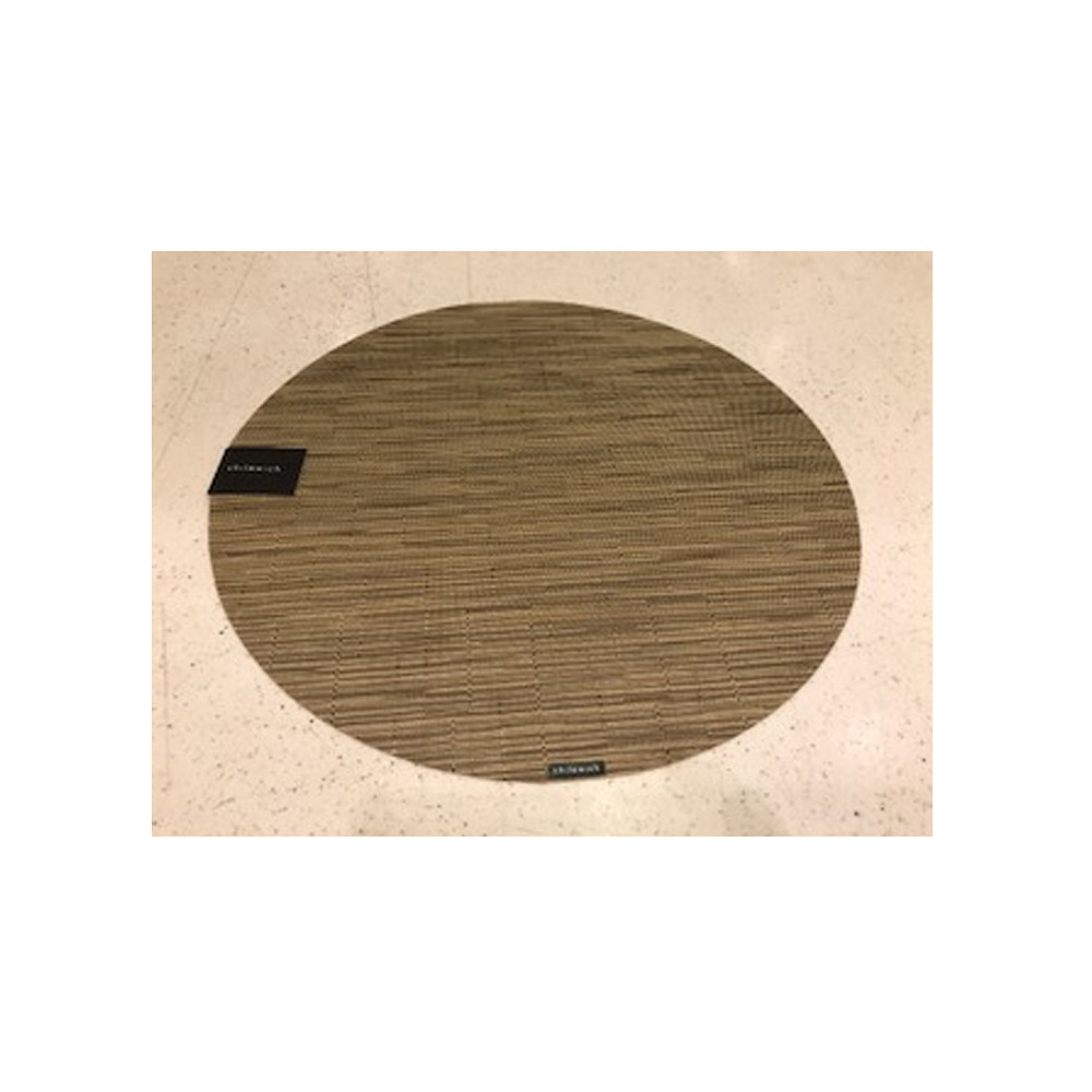 Placemat Round Bamboo