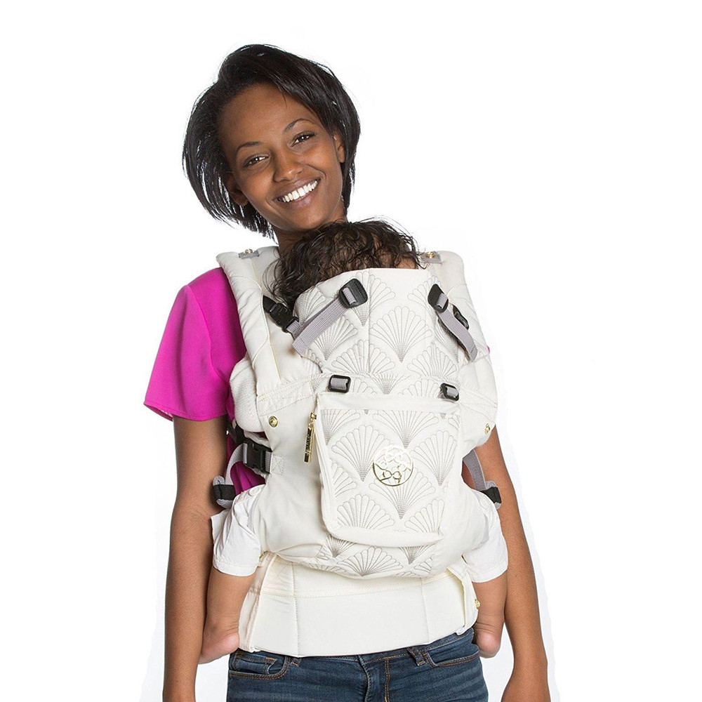 LILLEbaby Embossed Luxe Baby Carrier Brilliance