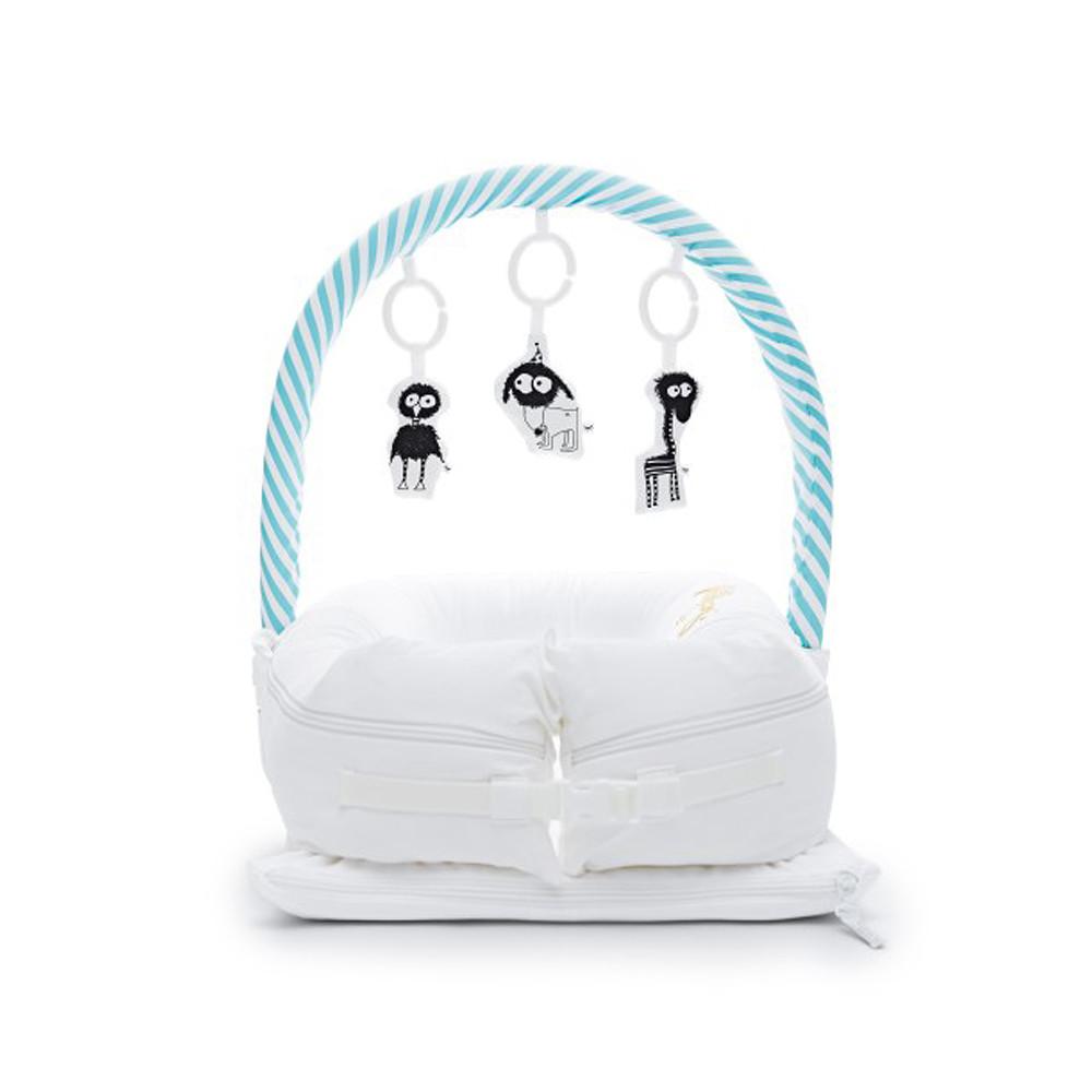 Sleepyhead Mobile Toy Arch Aqua&White Stripe