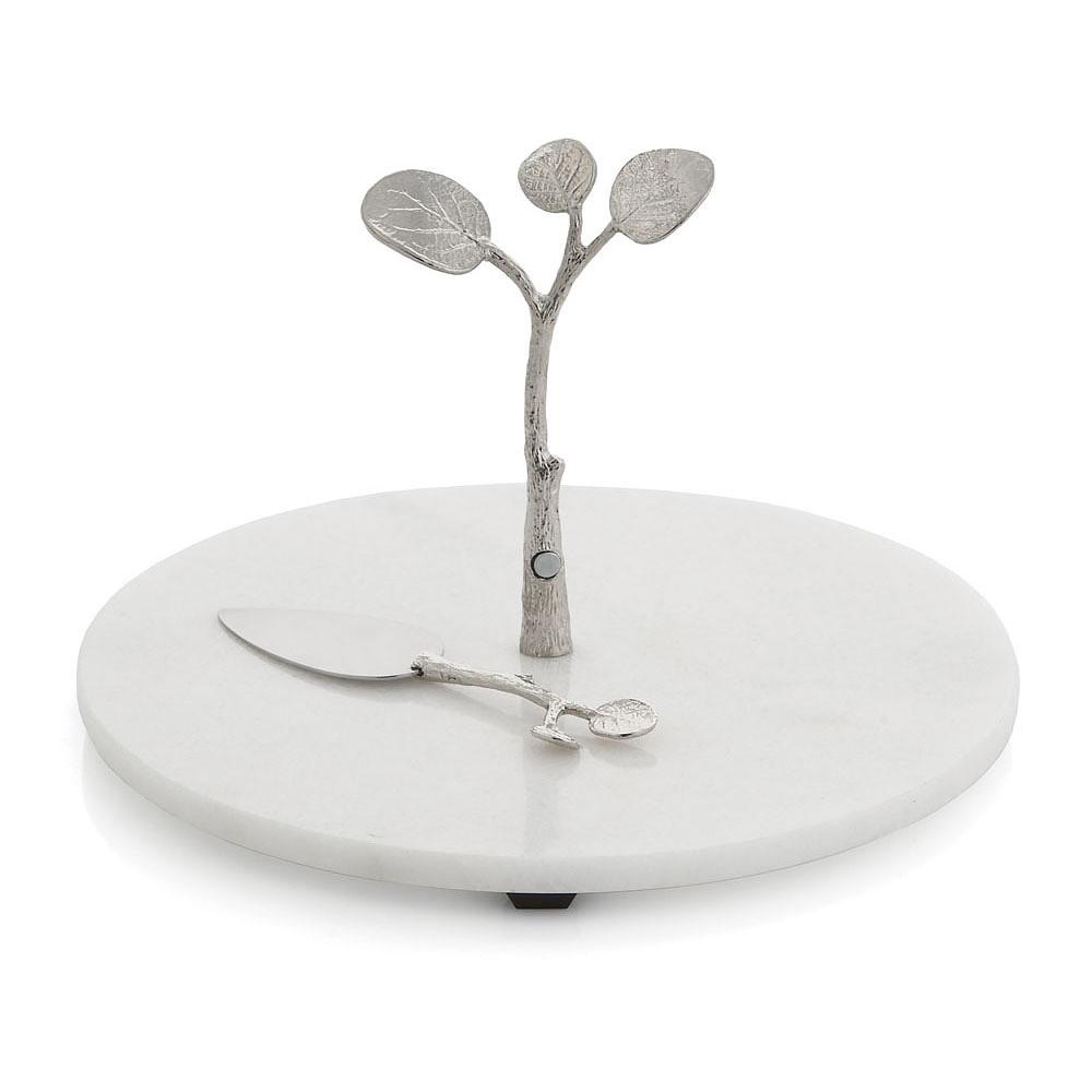 Michael Aram Botanical Leaf Cheese Board w/ Knife
