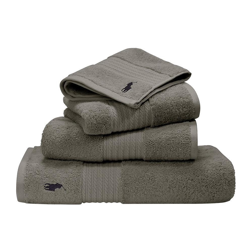 Ralph Lauren Face Towel Grey