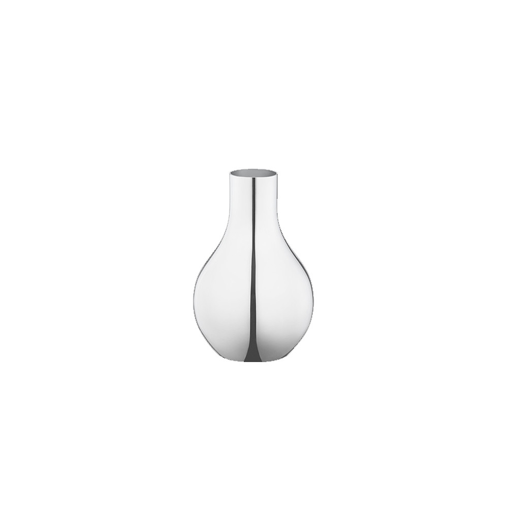 Georg Jensen Cafu Vase Extra Small Stainless Steel