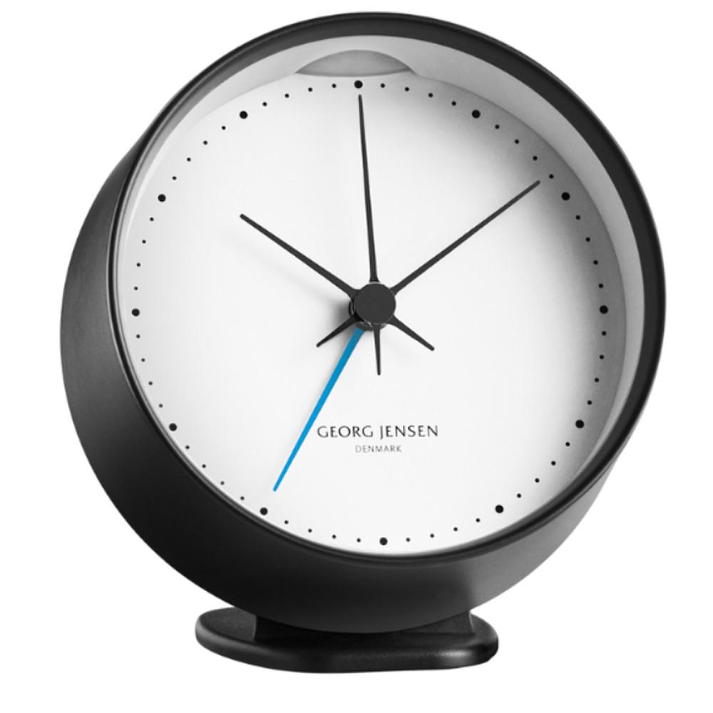 Georg Jensen Alarm w/ Holder Black&White 10cm
