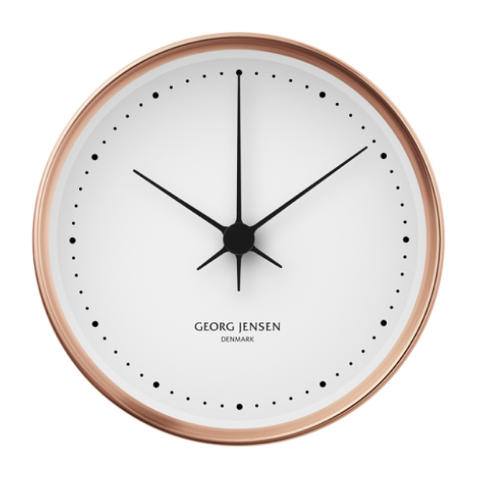 Georg Jensen Koppel Wall Clock Thermo + Holders