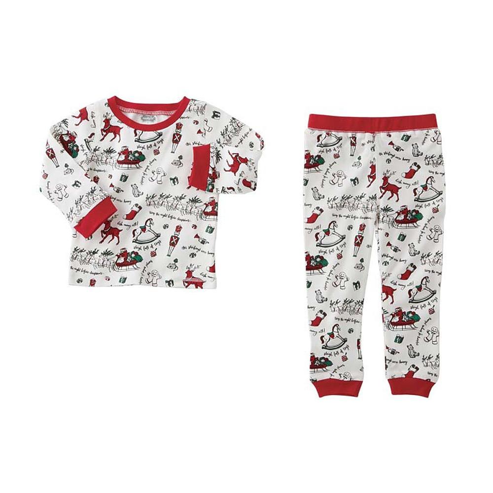 Mud Pie Very Merry Christmas Pajamas Red