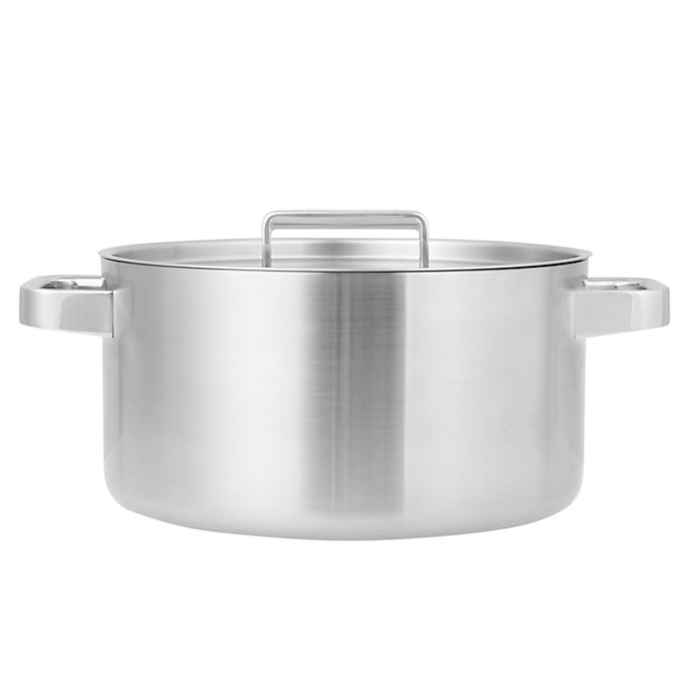 John Lewis 5 Ply Thermacore 24Cm Stockpot