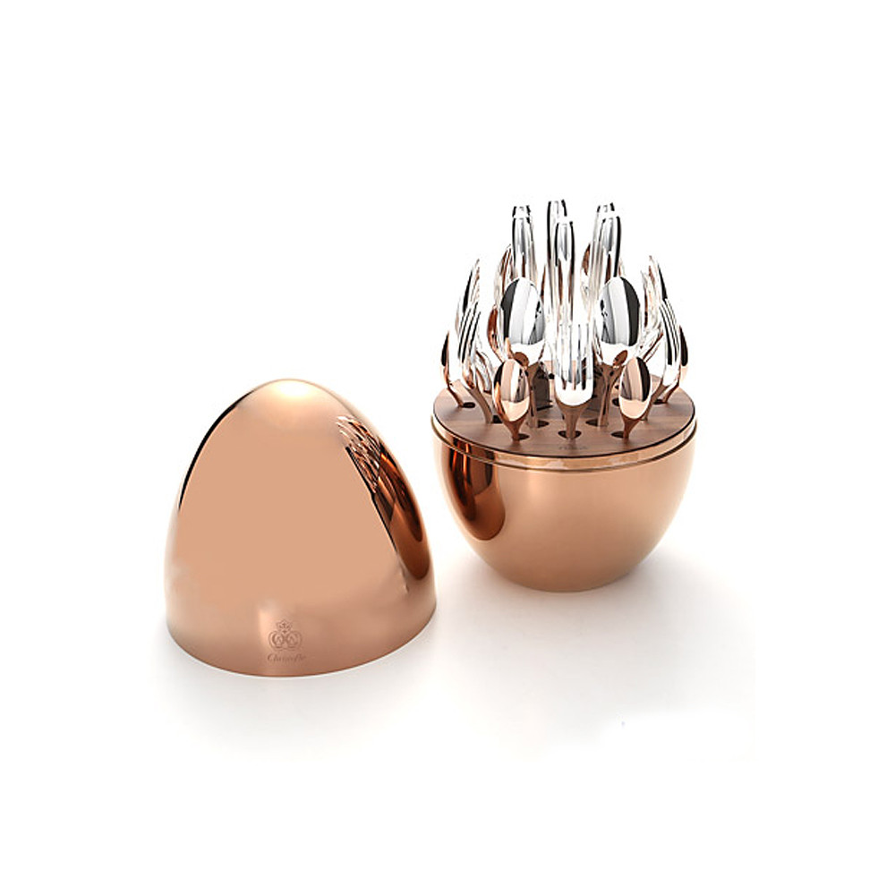 Christofle Mood Precious Pink Gold 24pc set
