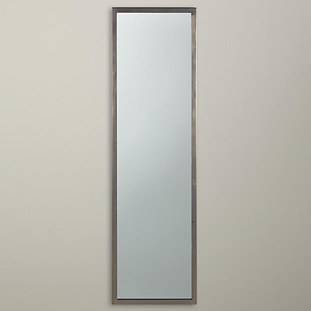 John Lewis Pewter Mirror 107x31cm