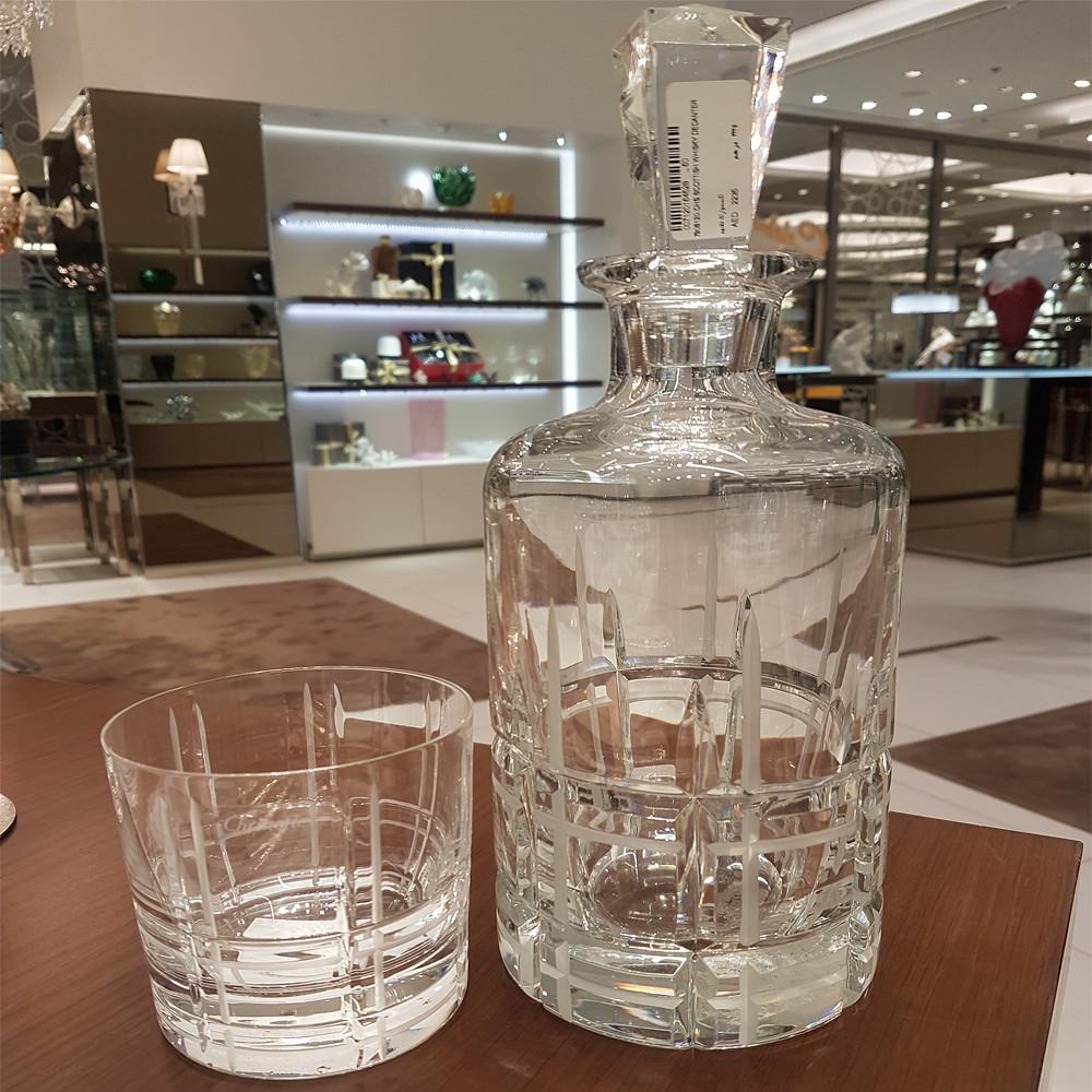 Christofle Scottish Whisky Decanter