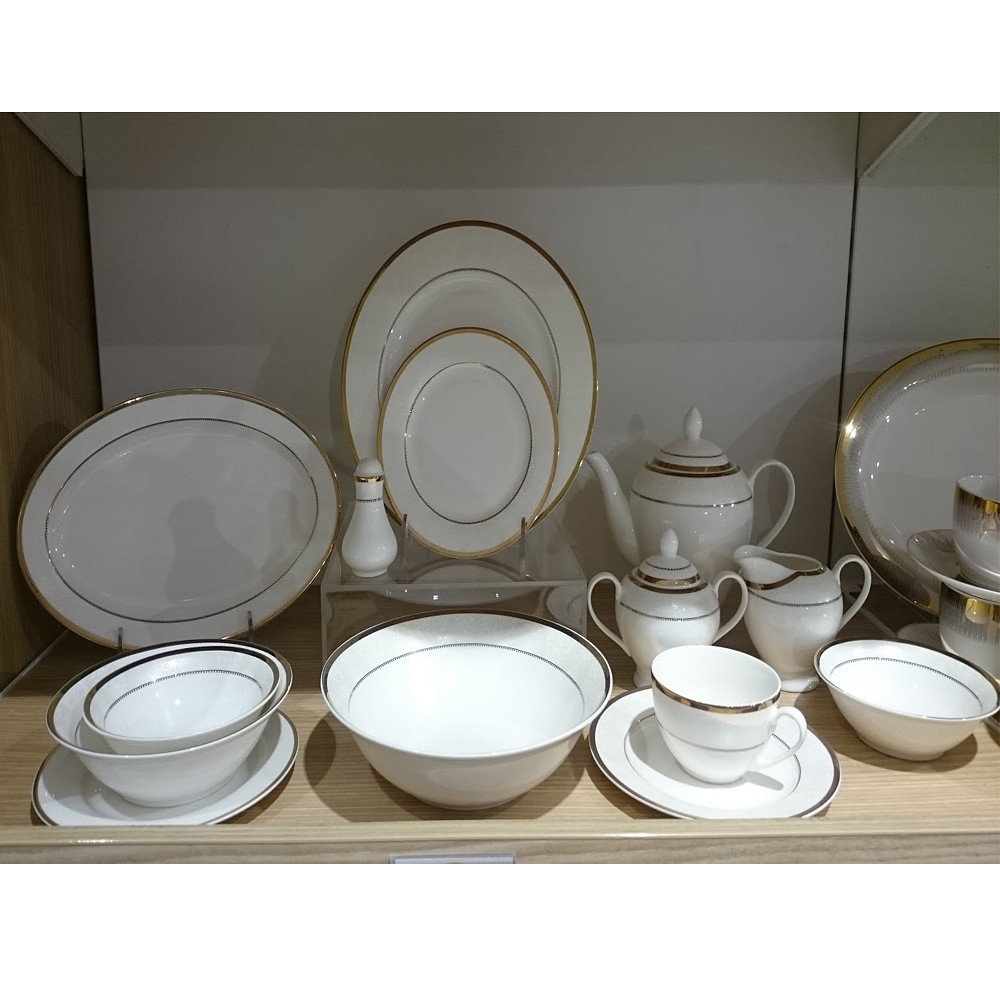 Home Centre Kallithea 106 pcs Dinner set - 79cmH
