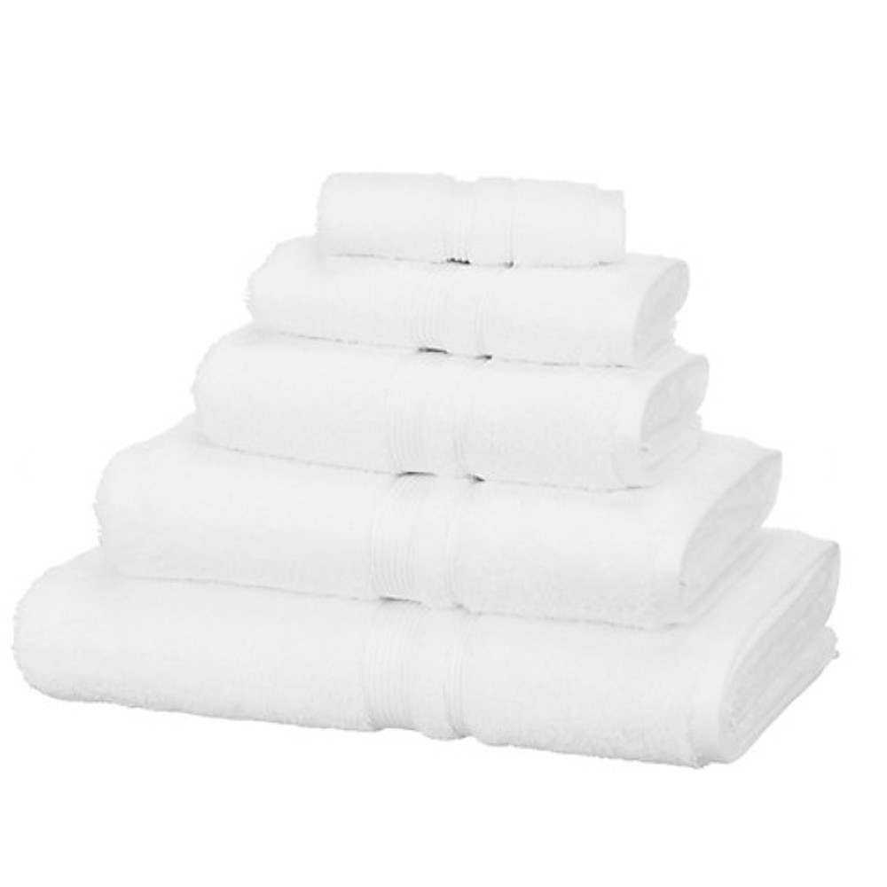 John Lewis Egyptian Cotton Bath Towel White
