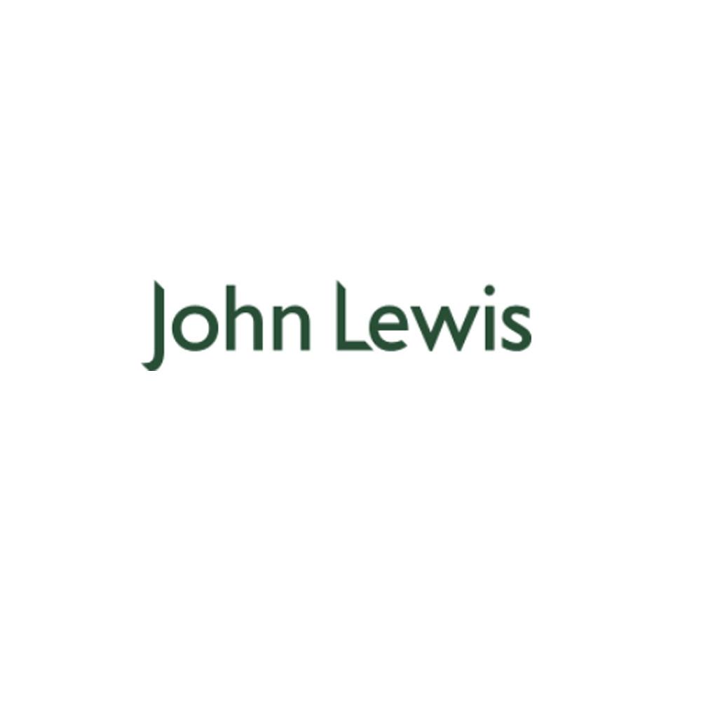 John Lewis Concave Mug Tall Light Blue