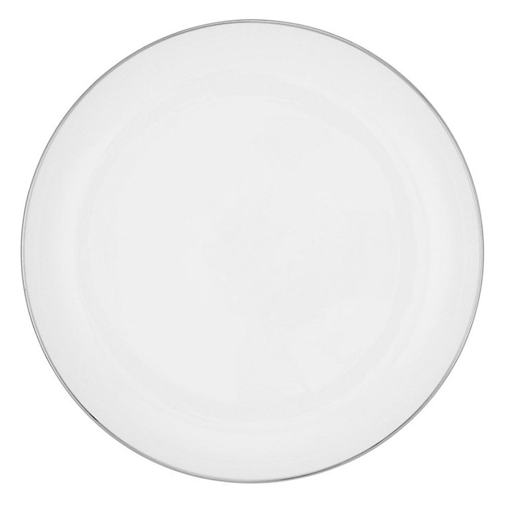John Lewis Small Side Plate 18Cm Platinum Band