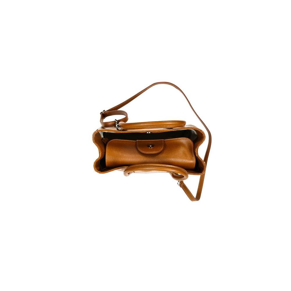 Au Fait Satchel Bag, KZ1894TAN