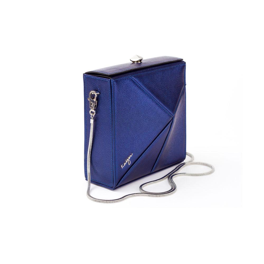 Cosset Square Shoulder Bag, KZ2209BLU