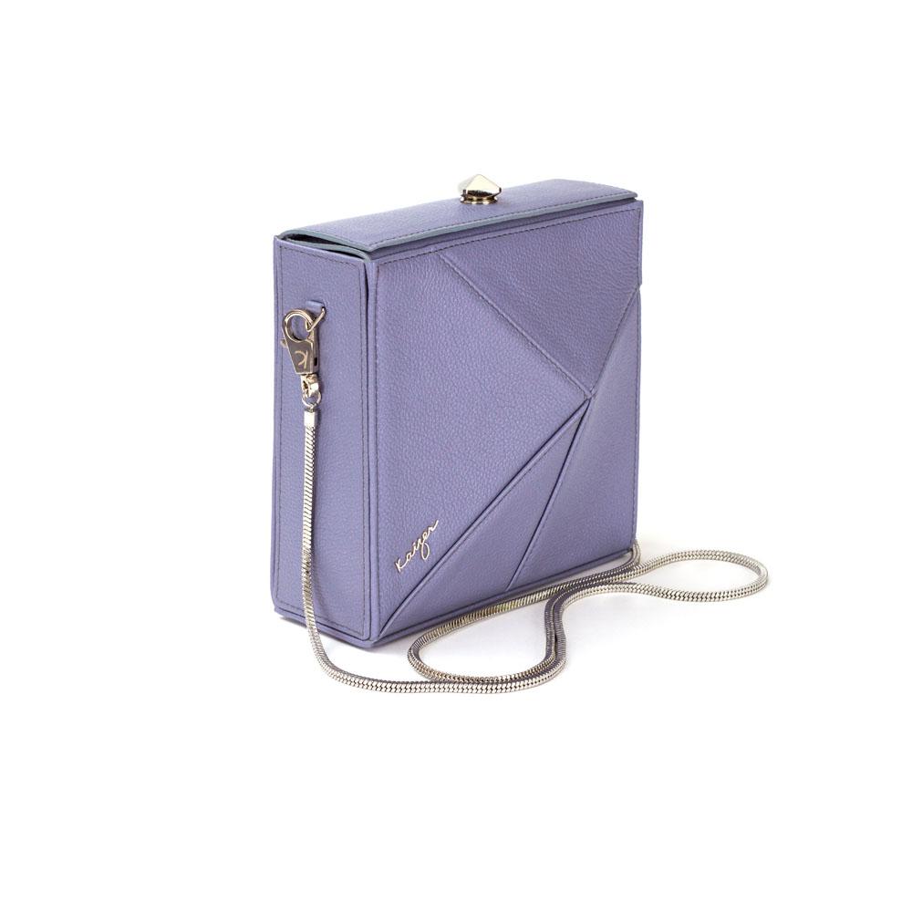 Cosset Square Shoulder Bag, KZ2209GREY