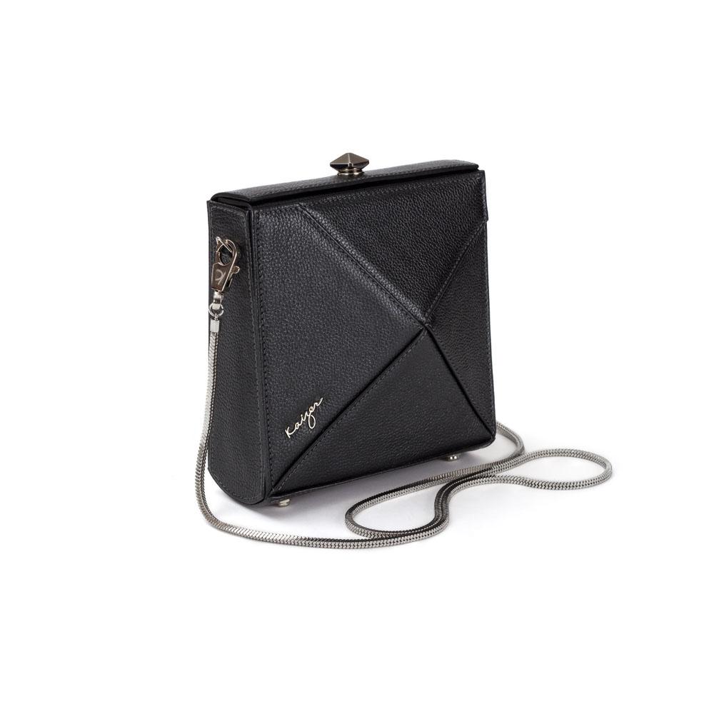 Cosset Square Shoulder Bag, KZ2212BLK