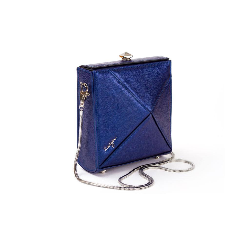 Cosset Square Shoulder Bag, KZ2212BLU