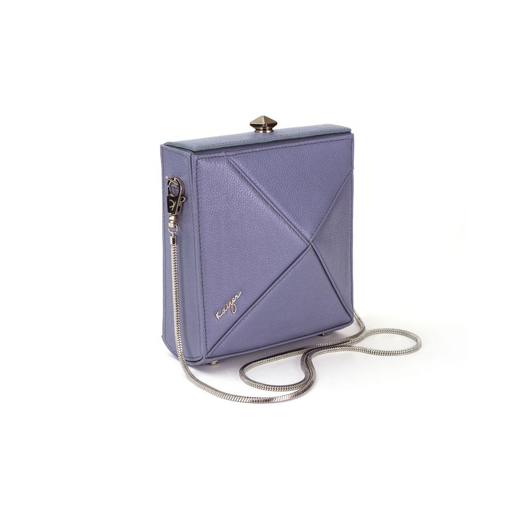 Cosset Square Shoulder Bag, KZ2212GREY