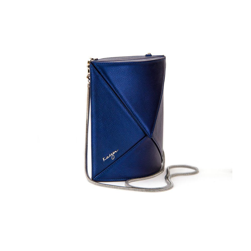 Cosset Oval Shoulder Bag, KZ2213BLU