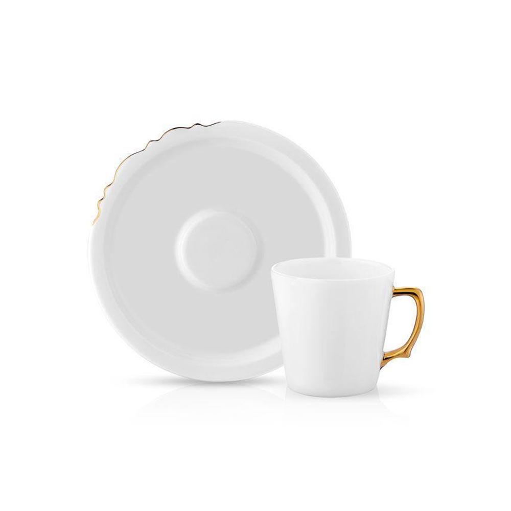 Galeries Lafayette HM Eser Istanbul Tea Set Gold 6pcs.