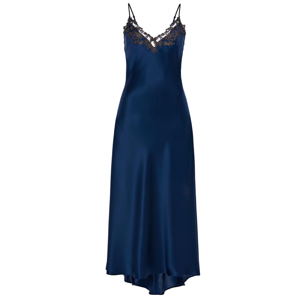 Maison Silk Satin Nightgown