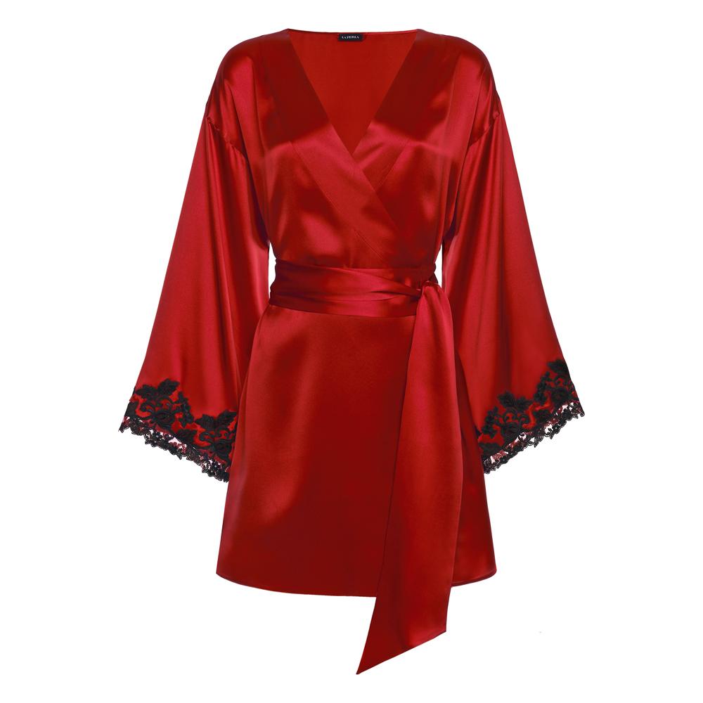 Maison Silk Satin robe